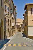 Tuscany city street