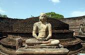 Vatadage Buddha Statue