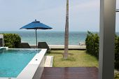 Scenic View From The Terrace Of The House, Koh Samui