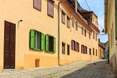 image of sibiu  - Old Town in the historical center of Sibiu Romania - JPG