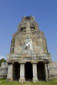 Monteferro monument at Nigran, Galicia, Spain