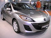 Mazda car on Belgrade car show