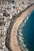 foto of ipanema  - Aerial View of Buildings in Front of the Ipanema Beach - JPG