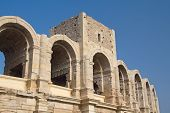 Roman Arena In Arles. (provence, France)