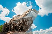 image of offensive  - Monument dedicated to the participants Belorussian Strategic Offensive Operation of the Great Patriotic War Bagration - JPG