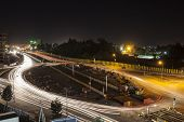 picture of ethiopia  - Roundabout in Addis Ababa - JPG