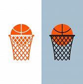pic of basketball  - Basketball logo - JPG