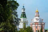 foto of trinity  - Towers in the Trinity Lavra of St - JPG