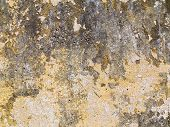 image of concrete  - Abstract concrete weathered with cracks and scratches - JPG