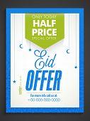 stock photo of eid card  - Sale poster - JPG
