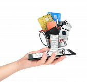 picture of nouns  - Online shop concept - JPG
