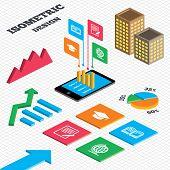 foto of geography  - Isometric design - JPG