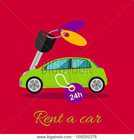 poster of Rent a Car