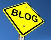 Signo de blog