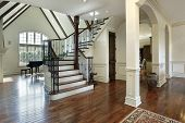 Foyer In Luxury Home