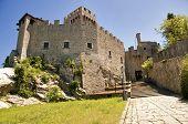Repubblica di San Marino - exibição de segunda torre Rocca Cesta orizontal