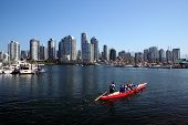 Canoe In Vancouver