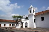 image of kali  - Inside white old monastery in Kali Colombia - JPG