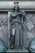 Figure On The Monument Of Maximilian Joseph