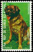 Vintage  Postage Stamp. Leonberg.