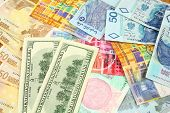 pic of ringgit  - World finance and foreign currency exchange concept  - JPG