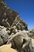 Lover'S Beach Rock Formation H