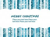 foto of weihnachten  - colorful lines background with snowflake for merry christmas - JPG