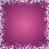 Pink Christmas Background,Vector