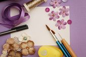 materiales de manualidades Scrapbooking