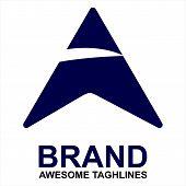 A Letter Logo Vector, A Letter Logo Design Vector Illustration Template, A Letter Logo Vector, Lette poster