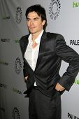 LOS ANGELES - MAR 10:  Ian Somerhalder arrives at the
