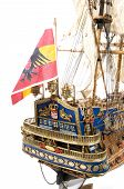 Detail Spanish Galleon