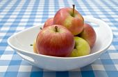 Bowl of Braeburn Apples