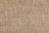 Rural Texture Of Sackcloth. Background Of Very Coarse, Rough Fabric Woven Made Of Flax, Jute Or Hemp poster