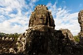Famous Head Statues Of Prasat Bayon Temple