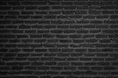 Wall Dark Brick Wall Texture Background. Brickwork Or Stonework Flooring Interior Rock Old Pattern C poster