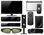 Home theater equipment