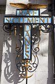 St Clement Danes kerk teken (centrale kerk aan de Raf)