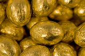 Gold Chocolate Candy