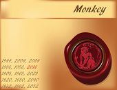 Year Of Monkey - Background