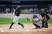 Scranton Wilkes Barre Yankees batter Ray Kruml