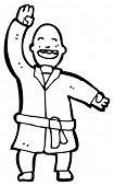 karate expert man