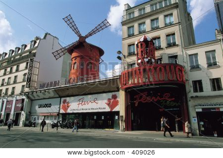 poster of Windmill In City