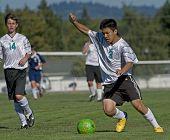 Jongens Hs Jv Soccer balcontrole