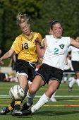Meisjes Varsity Soccer eeuw V St Hellens