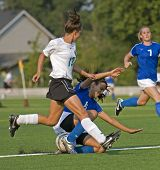 Soccer Girls High School Varsity Ball Control