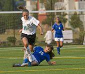 Meisjes Soccer reis