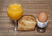 Orange Juice Toast
