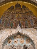 Facade Mosaics At St. Mark's Cathedral Of Venice