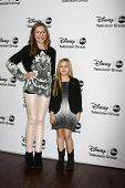LOS ANGELES - JAN 10:  Lennon Stella, Maisy Stella attends the ABC TCA Winter 2013 Party at Langham